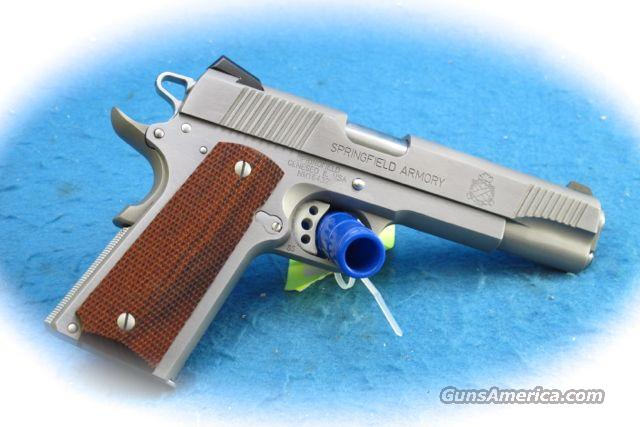 Springfield Armory 1911 Loaded SS .45 ACP PIstol **Used**  Guns > Pistols > Springfield Armory Pistols > 1911 Type