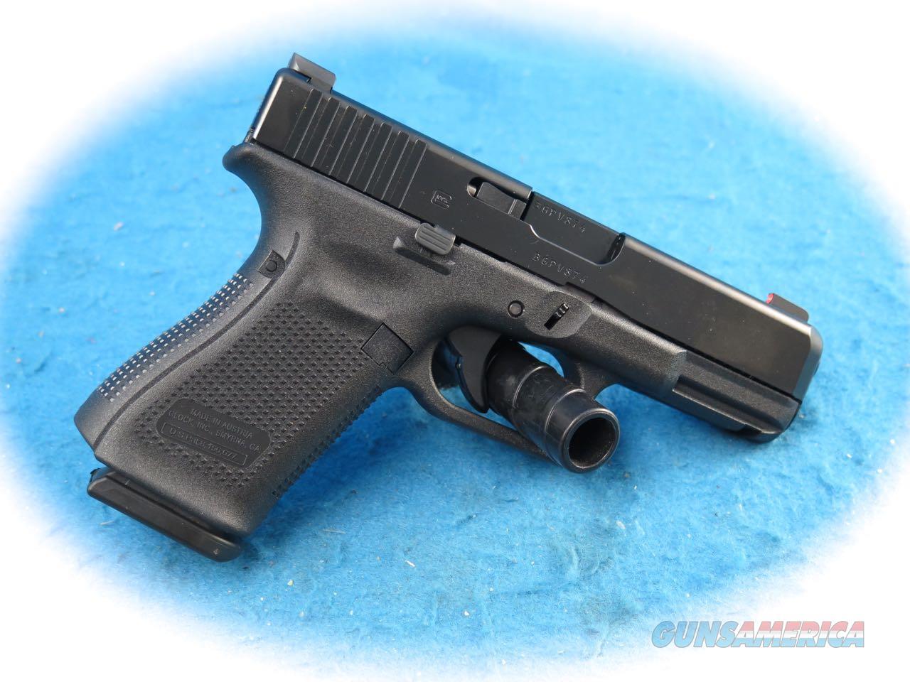 Glock Model 19 Gen 5 9mm Pistol W/Ameriglo Night Sights **New**  Guns > Pistols > Glock Pistols > 19