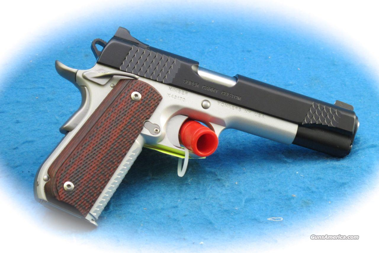 Kimber Super Carry Custom 1911 .45 ACP PIstol **New**  Guns > Pistols > Kimber of America Pistols