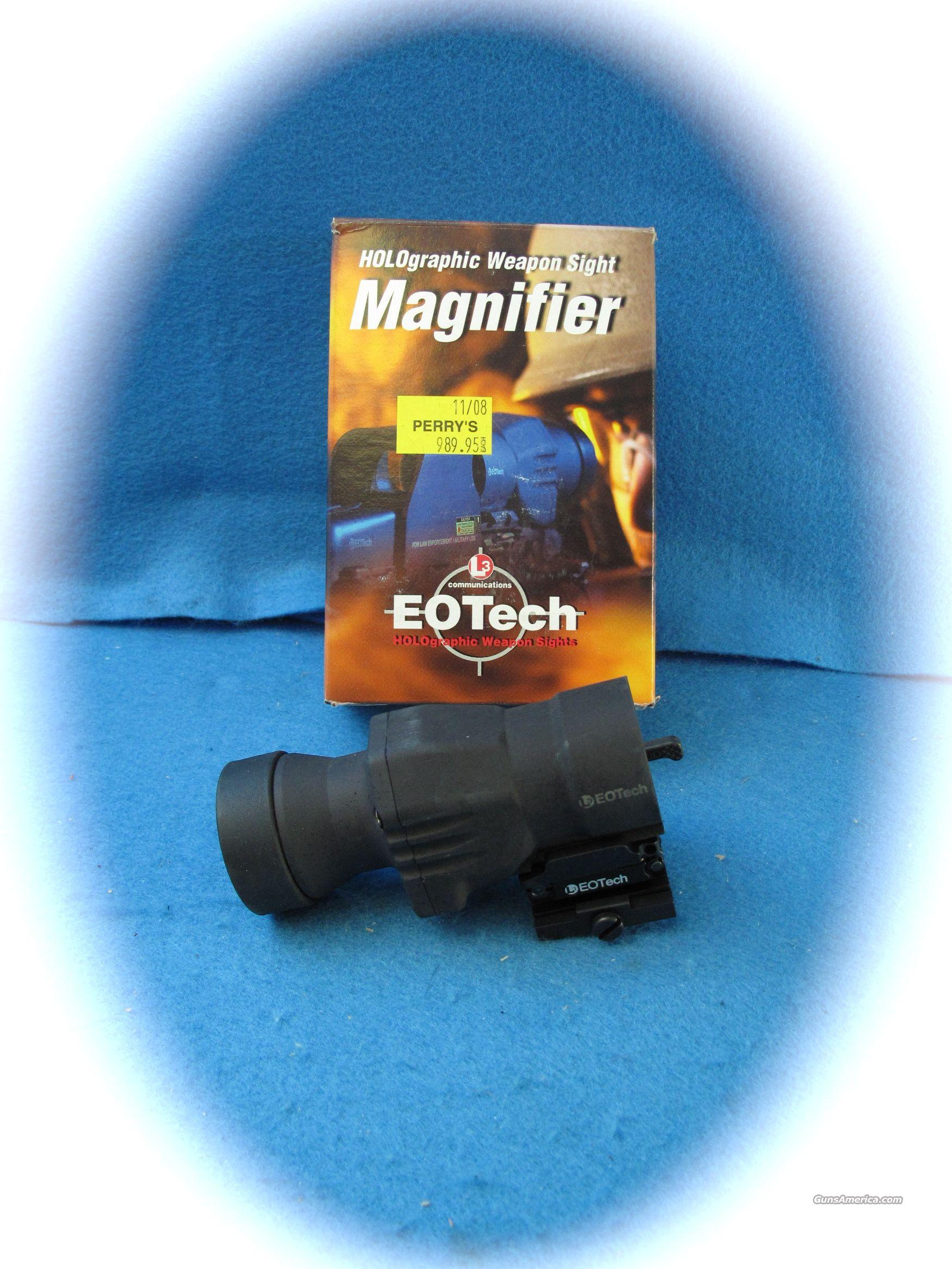 EOTech Holographic Sight Magnifier 3X Fixed **NEW** ON SALE!!  Non-Guns > Tactical Equipment/Vests