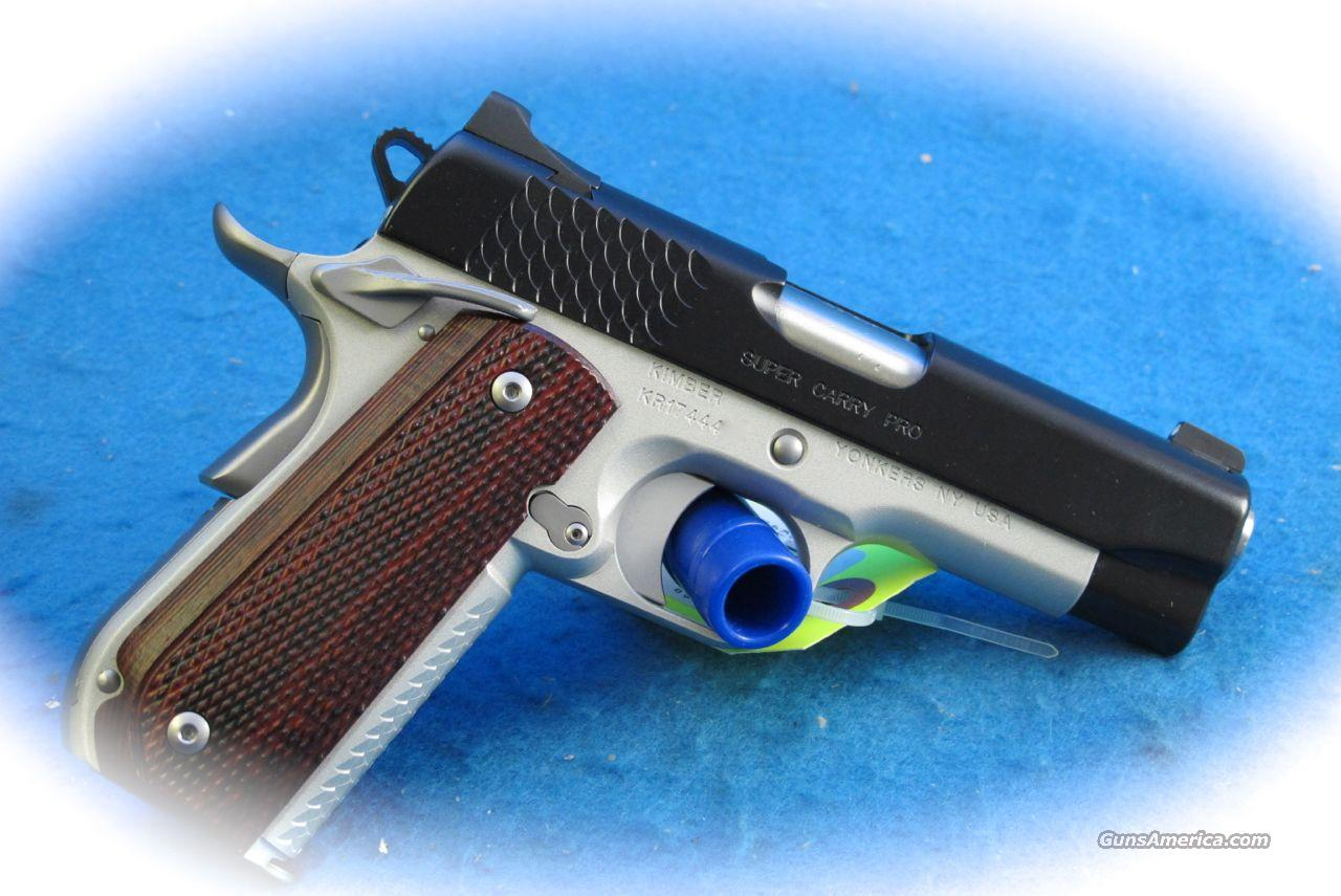 Kimber 1911 Super Carry Pro II .45 ACP Pistol **New**  Guns > Pistols > Kimber of America Pistols