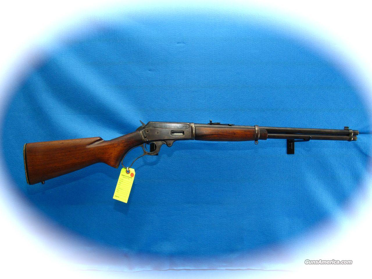 Marlin Model 1936 1st Variation **RARE** USED  Guns > Rifles > Marlin Rifles > Modern > Lever Action