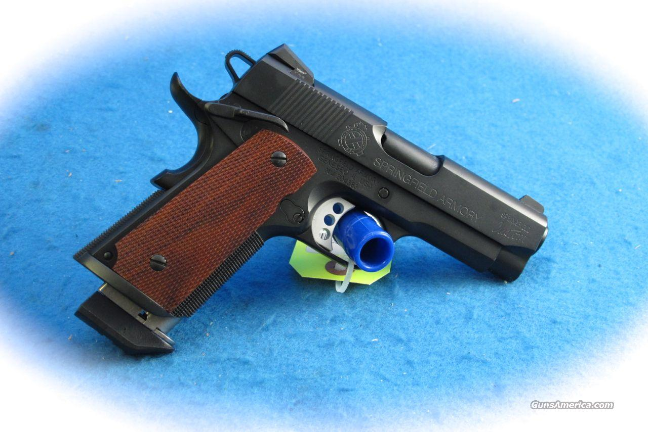 springfield armory custom shop Custom shop springfield armory 1911 a1 45 acp caliber pistol custom shop target model with adjustable sights, upgrade features and 2-tone finish excellent condition.