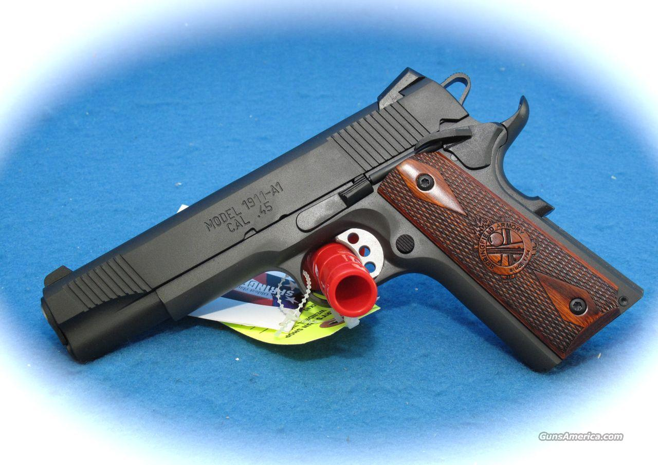 Springfield Loaded Full Size 1911 w/ Night Sights **NEW**  Guns > Pistols > Springfield Armory Pistols > 1911 Type