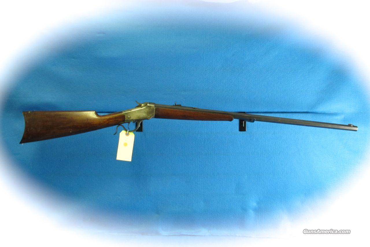 Winchester Model 1885 Low Wall Single Shot Rifle .38WCF Cal **Used**  Guns > Rifles > Winchester Rifles - Pre-1899 Bolt/Single Shot