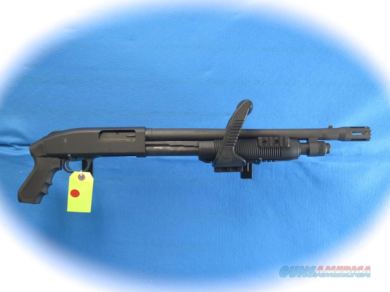 Mossberg Model 500 Chainsaw 12 Ga. Pump Tactical Shotgun **Used**  Guns > Shotguns > Mossberg Shotguns > Pump > Tactical