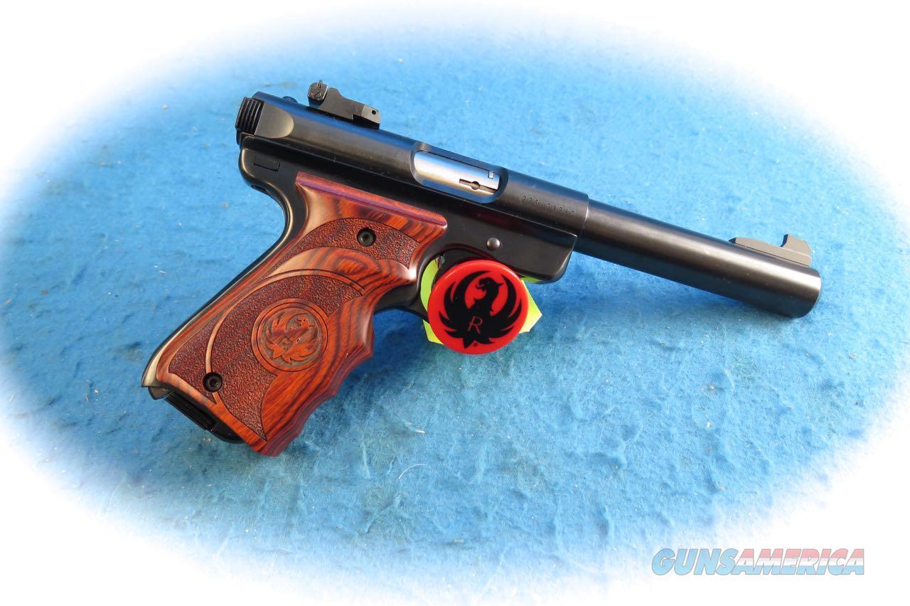 Ruger Mark III Target Pistol W/Wood Grip HB Model 10159 **New**  Guns > Pistols > Ruger Semi-Auto Pistols > Mark I/II/III/IV Family