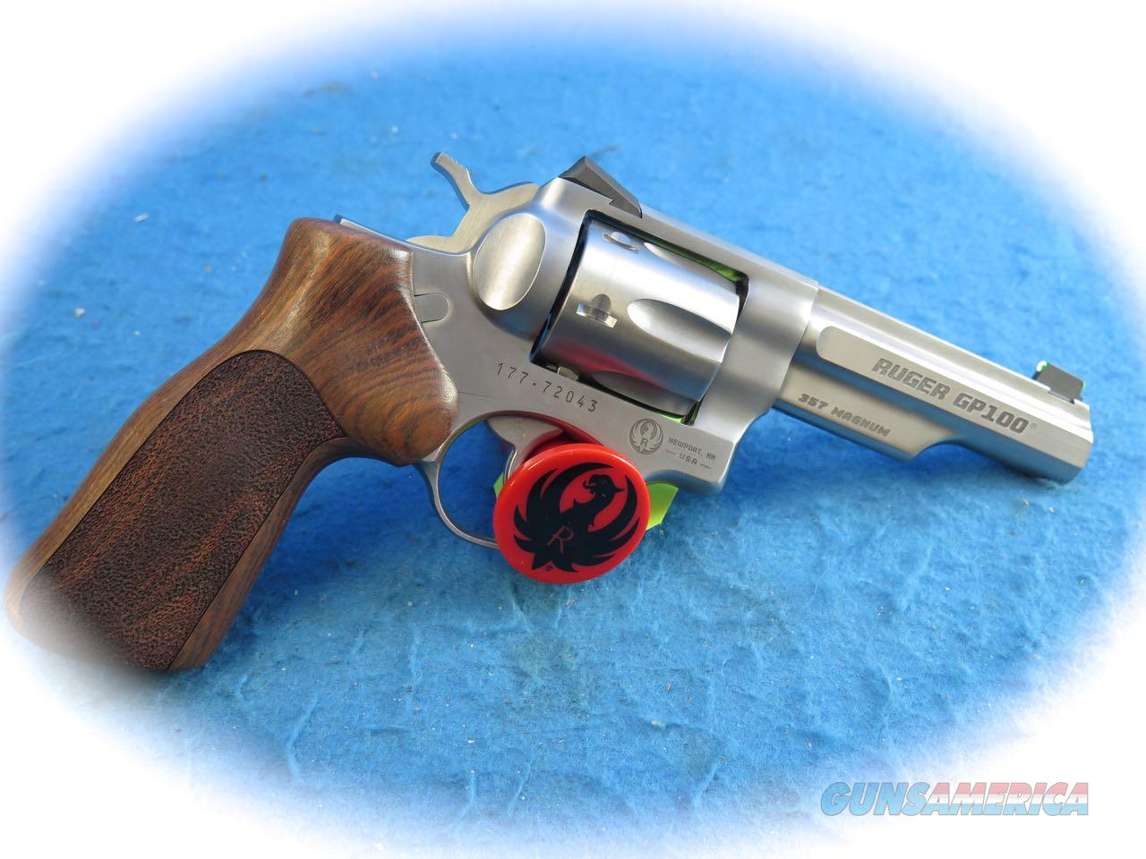 Ruger GP100 .357 Mag SS DA Match Champion Revolver Model 1754 **New**  Guns > Pistols > Ruger Double Action Revolver > GP100