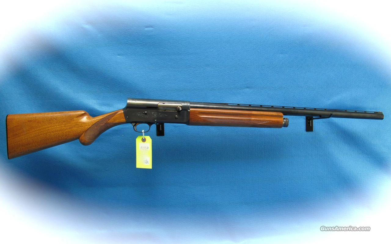 Browning A-5 Light Twelve Shotgun 12 Ga. Belgium Made **Used**  Guns > Shotguns > Browning Shotguns > Autoloaders > Hunting