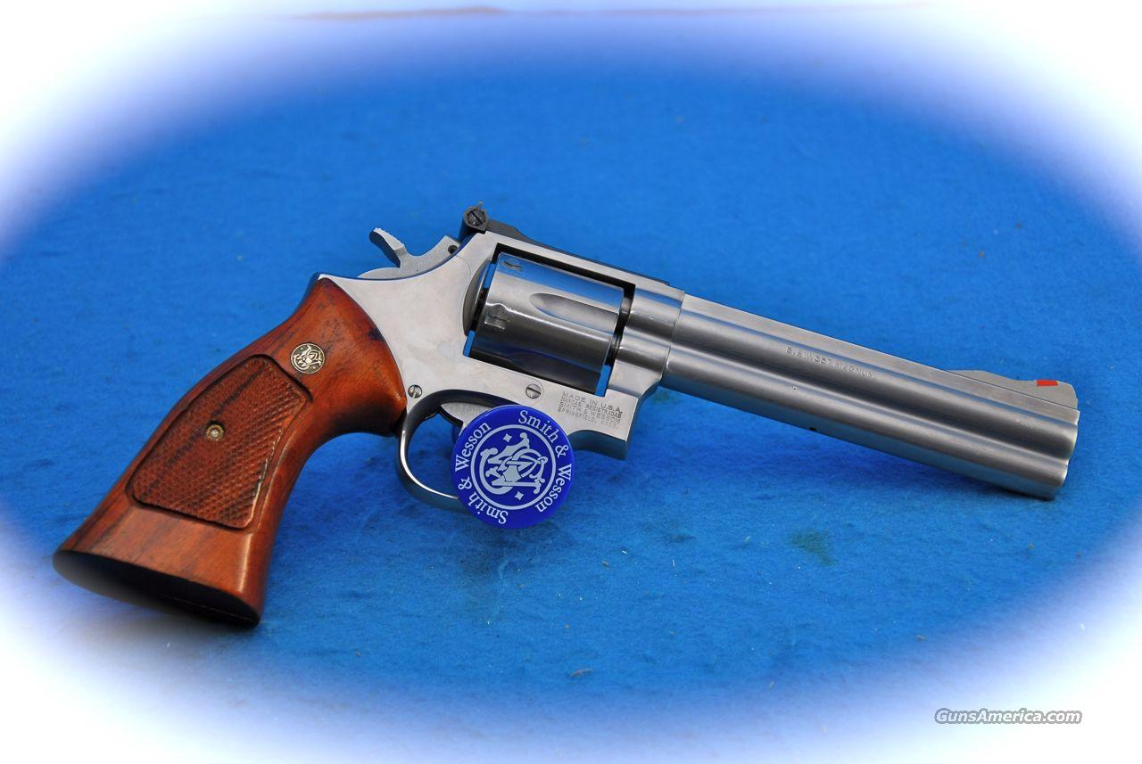 Smith & Wesson Model 686 6 Inch BBl **Used**  Guns > Pistols > Smith & Wesson Revolvers > Full Frame Revolver