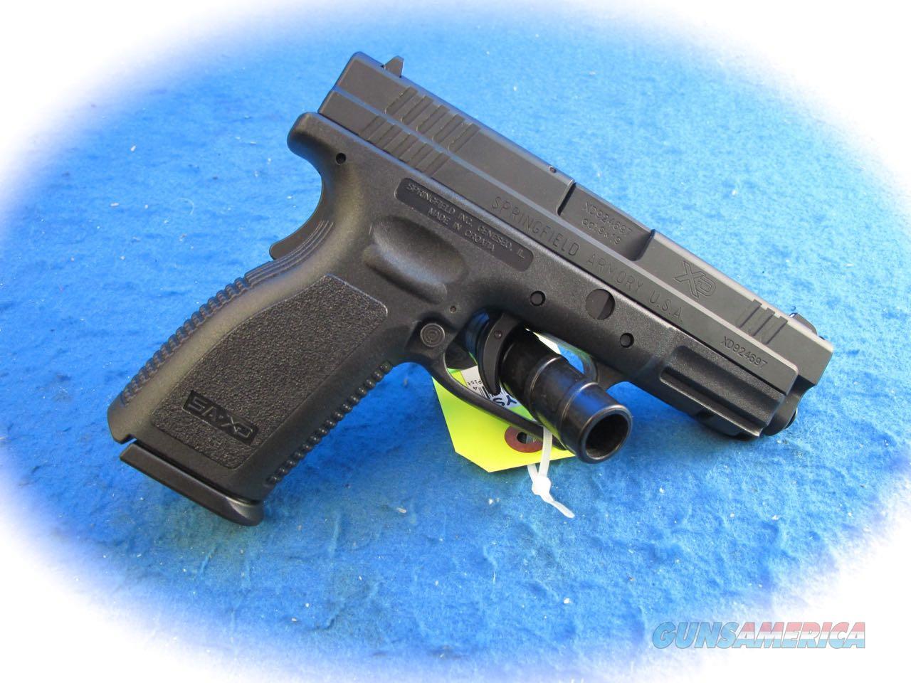 Springfield Armory XD-9 9mm Semi Auto Pistol **Used**  Guns > Pistols > Springfield Armory Pistols > XD (eXtreme Duty)