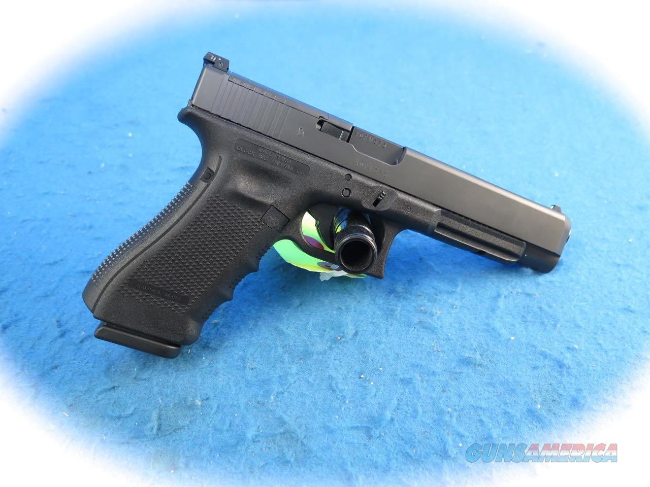 Glock Model 34 MOS Gen 4 9mm Pistol **New**  Guns > Pistols > Glock Pistols > 34