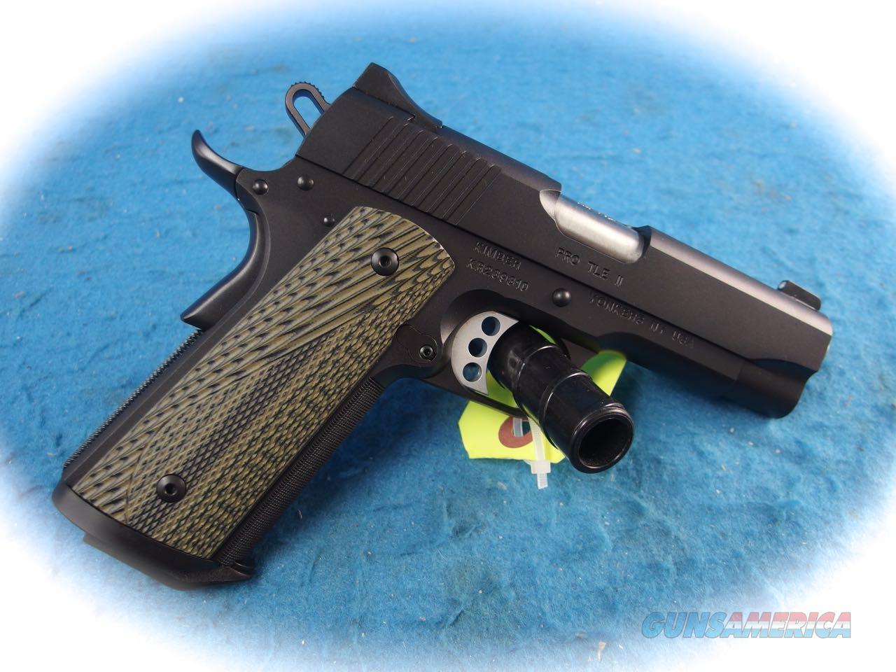 Kimber 1911 Pro TLE II (EM) .45 ACP Pistol **New**  Guns > Pistols > Kimber of America Pistols > 1911