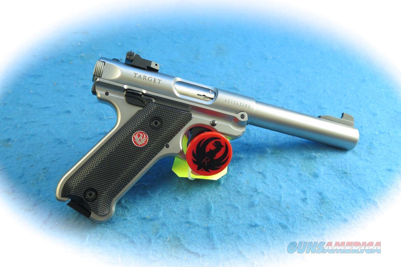 Ruger Mark IV Target SS .22LR Pistol Model 40103 **New**  Guns > Pistols > Ruger Semi-Auto Pistols > Mark I/II/III/IV Family