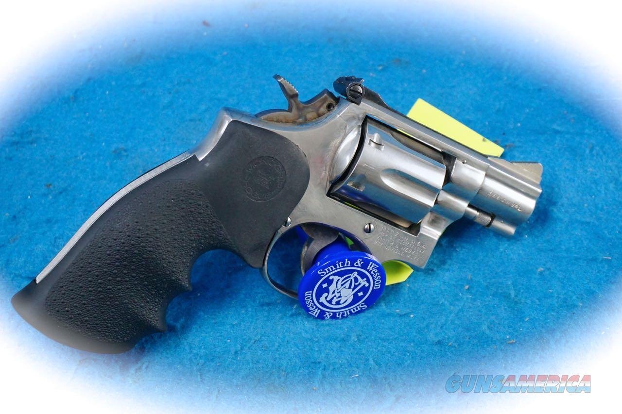 Smith & Wesson Model 15-3 Nickel .38 Special Revolver **Used**  Guns > Pistols > Smith & Wesson Revolvers > Med. Frame ( K/L )