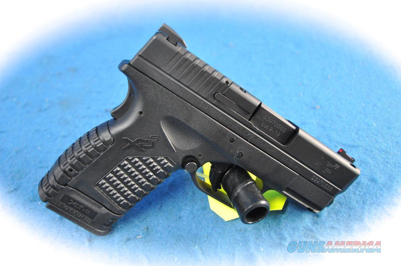 Springfield Armory XD-s 9mm Sub-Compact Pistol **Used**  Guns > Pistols > Springfield Armory Pistols > XD-S