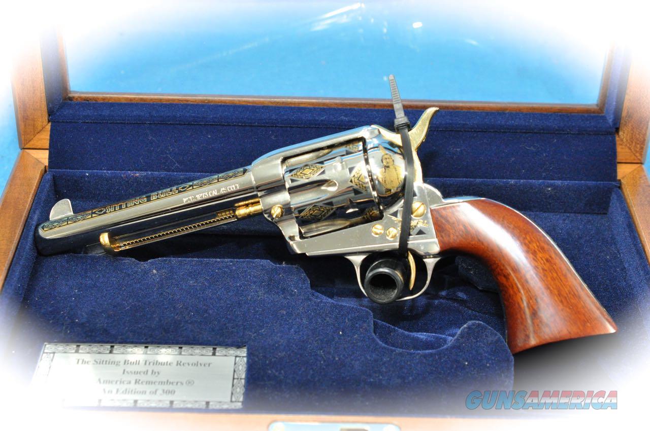 "Uberti America Remembers 1873 SAA ""Sitting Bull"" Commemorative .45 Colt **Used**  Guns > Pistols > Uberti Pistols > Ctg."