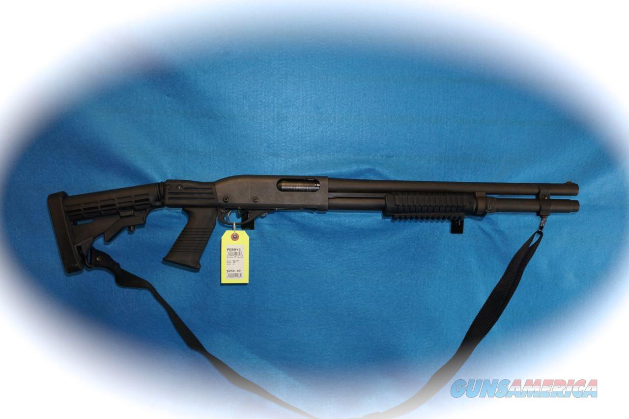 Remington 870 Pump 12 Ga. Tactical Shotgun **Used**  Guns > Shotguns > Remington Shotguns  > Pump > Tactical