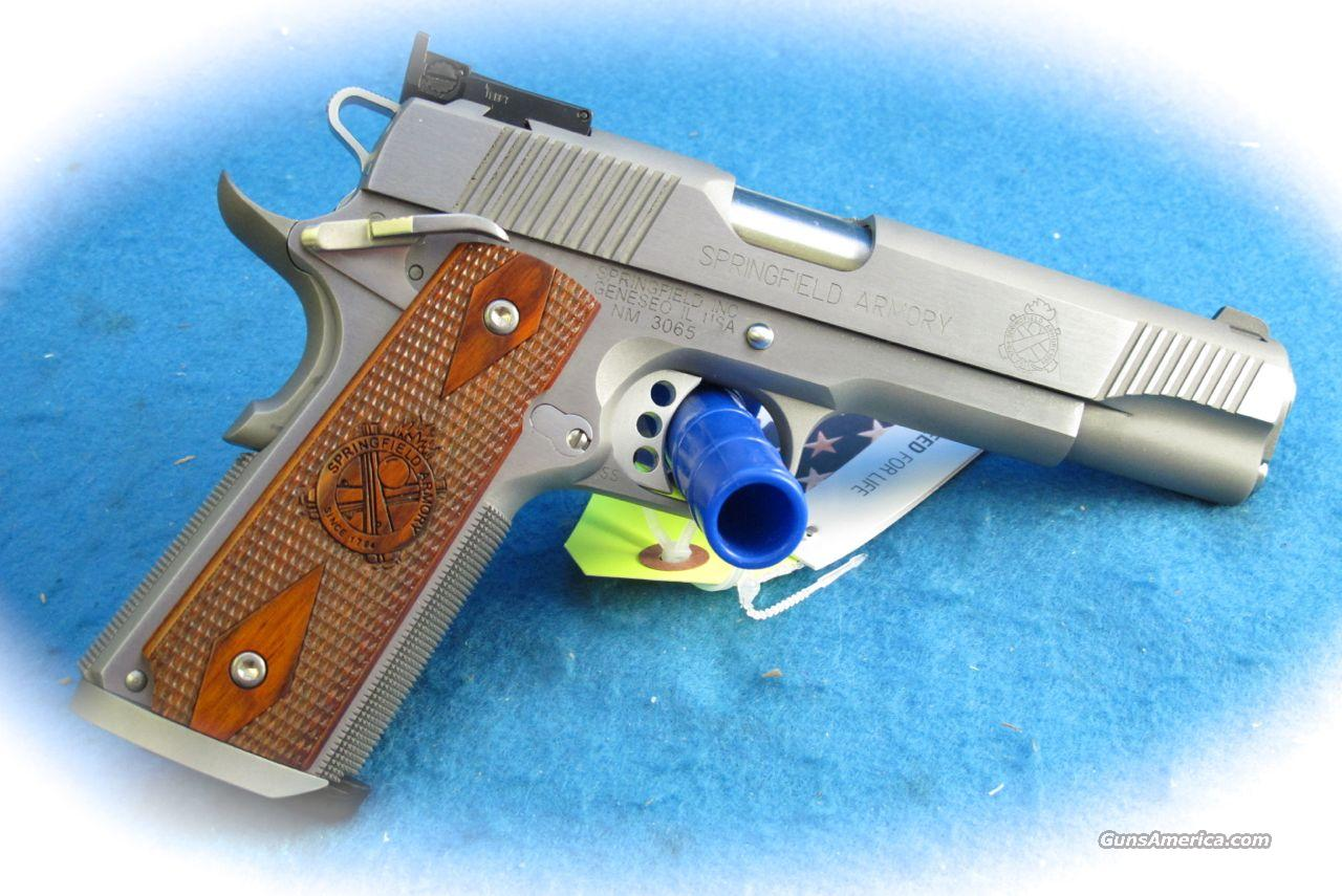 Springfield Armory 1911 Trophy Match SS .45 ACP PIstol **New**  Guns > Pistols > Springfield Armory Pistols > 1911 Type