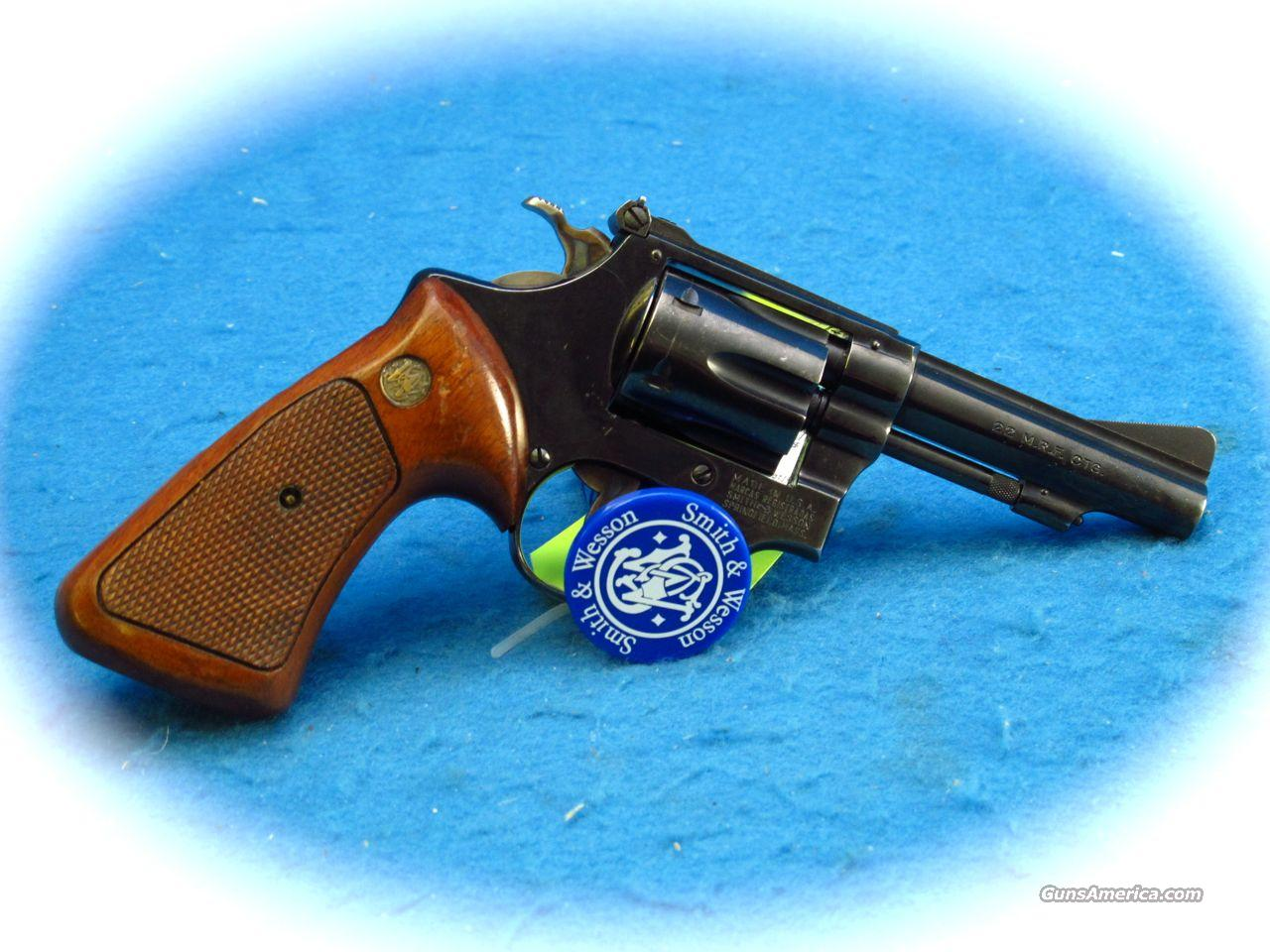 Smith & Wesson Model 51 22WMR Cal P&R Blue **Used**  Guns > Pistols > Smith & Wesson Revolvers > Full Frame Revolver