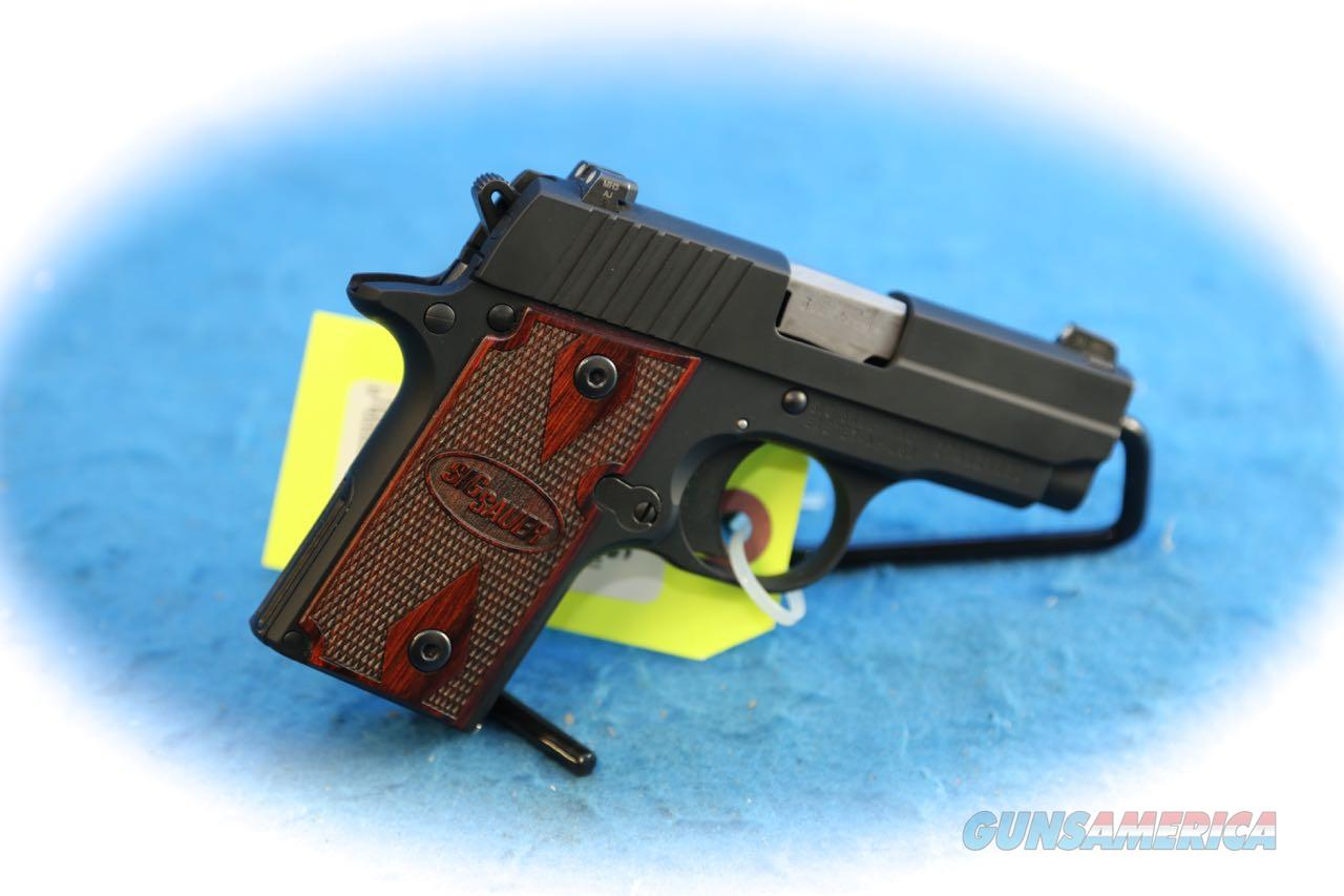 Sig Sauer P238 Rosewood .380 ACP Pistol **Used**  Guns > Pistols > Sig - Sauer/Sigarms Pistols > P238