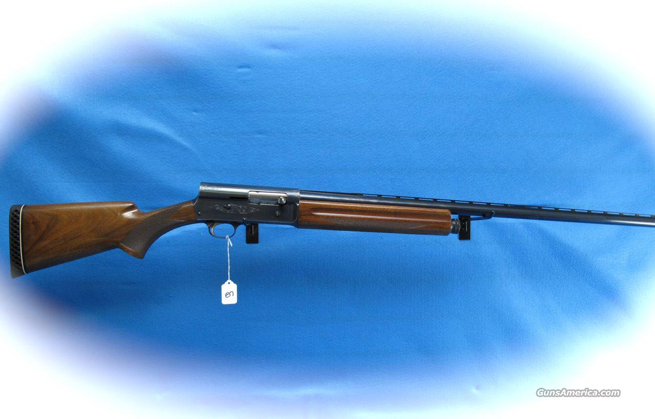 Browning Auto 5 Light 12 Made in Belgium **USED**  Guns > Shotguns > Browning Shotguns > Autoloaders > Hunting