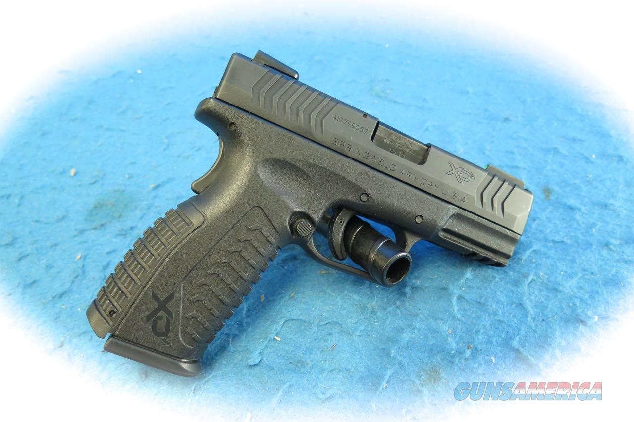 Springfield Armory XD-M 3.8 9mm Semi Auto Pistol W/Accessories **Used**  Guns > Pistols > Springfield Armory Pistols > XD-M