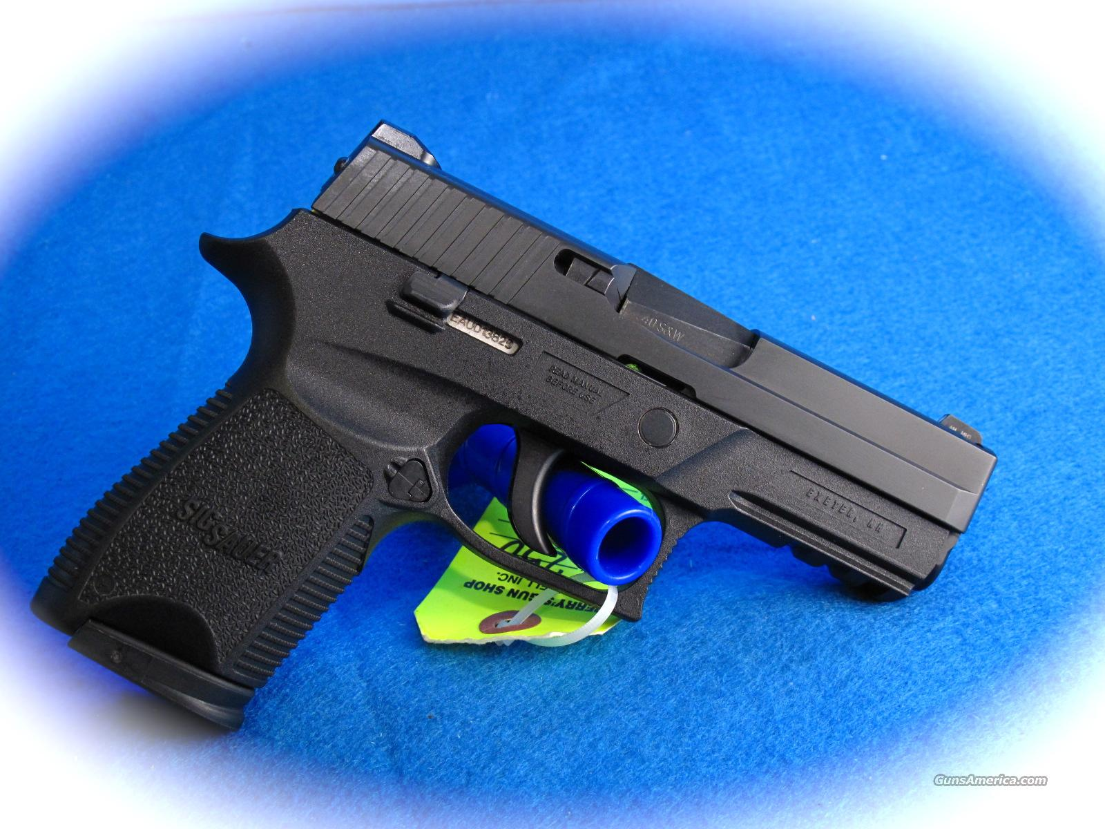 Sig Sauer P250 Compact 40 S&W Nitron Finish**NEW**  Guns > Pistols > Sig - Sauer/Sigarms Pistols > P250