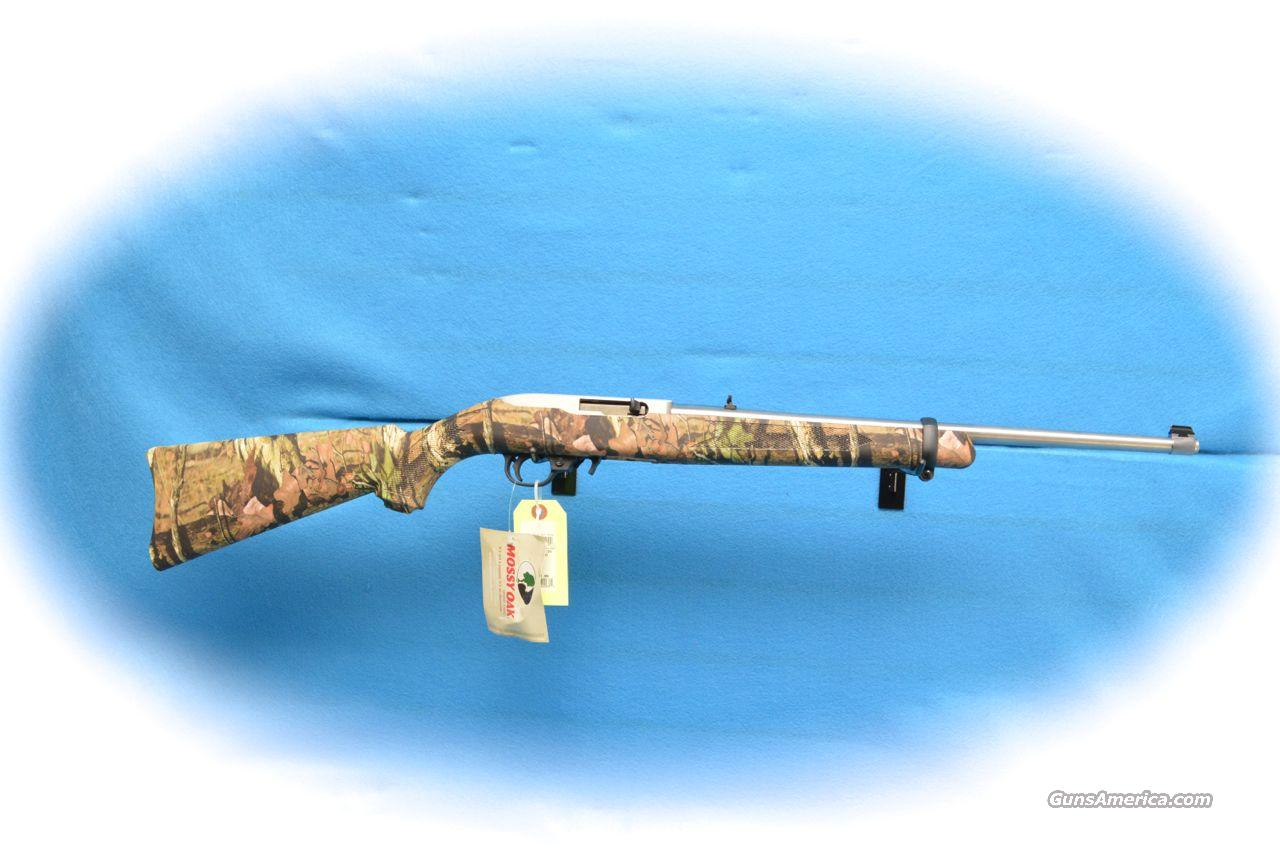 Ruger 10/22 Mossy Oak Camo/SS .22LR Semi Auto Rifle **New** ON SALE  Guns > Rifles > Ruger Rifles > 10-22