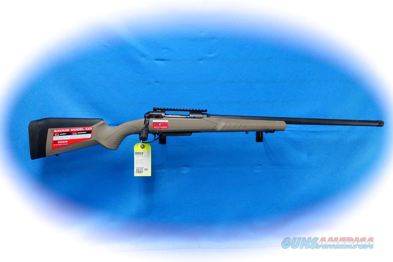 Savage Model 110 Tactical Desert Bolt Rifle 6.5 Creedmoor **New**  Guns > Rifles > Savage Rifles > 10/110