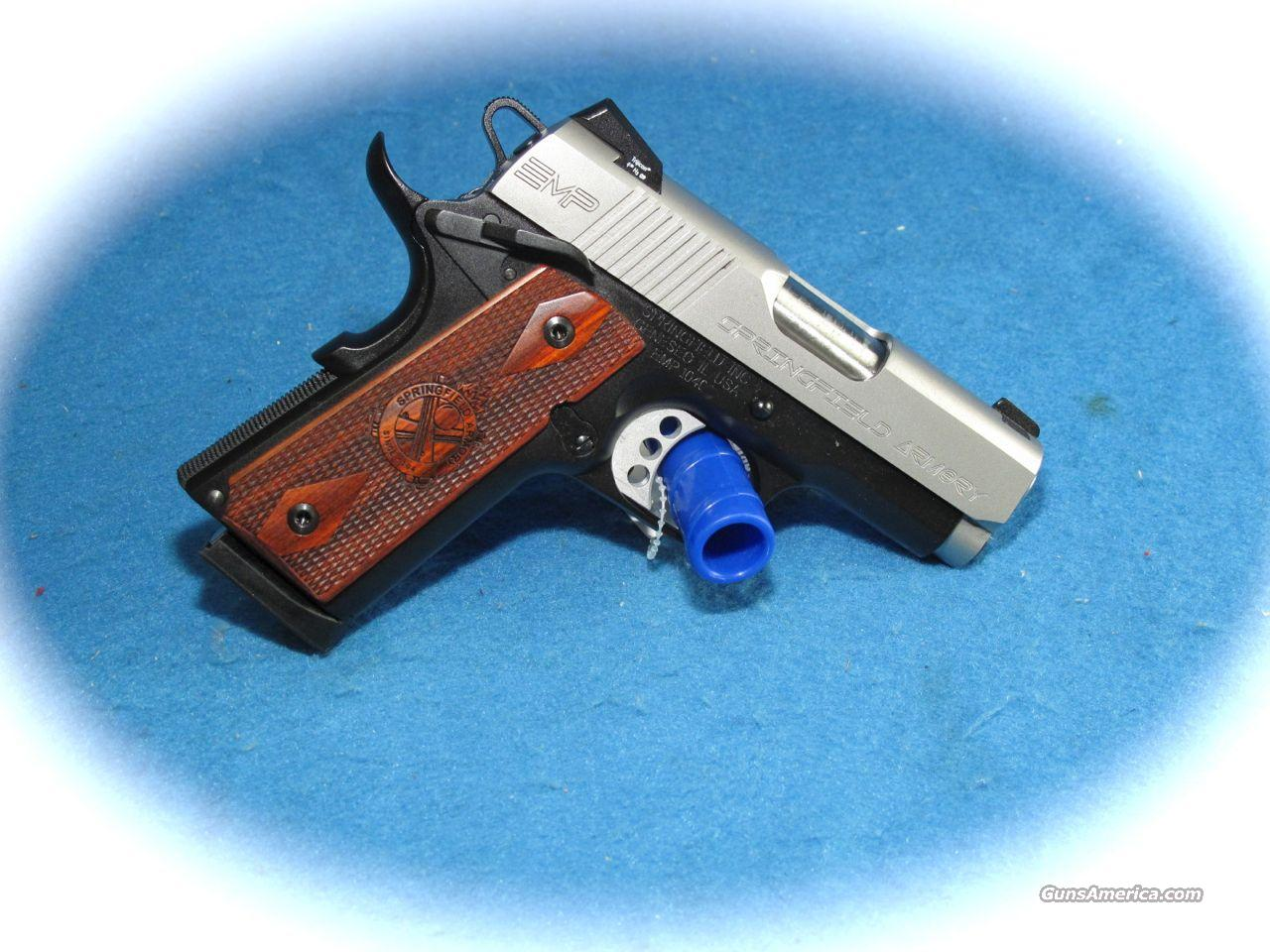 Springfield Armory EMP 40 S&W Cal. **NEW**  Guns > Pistols > Springfield Armory Pistols > 1911 Type
