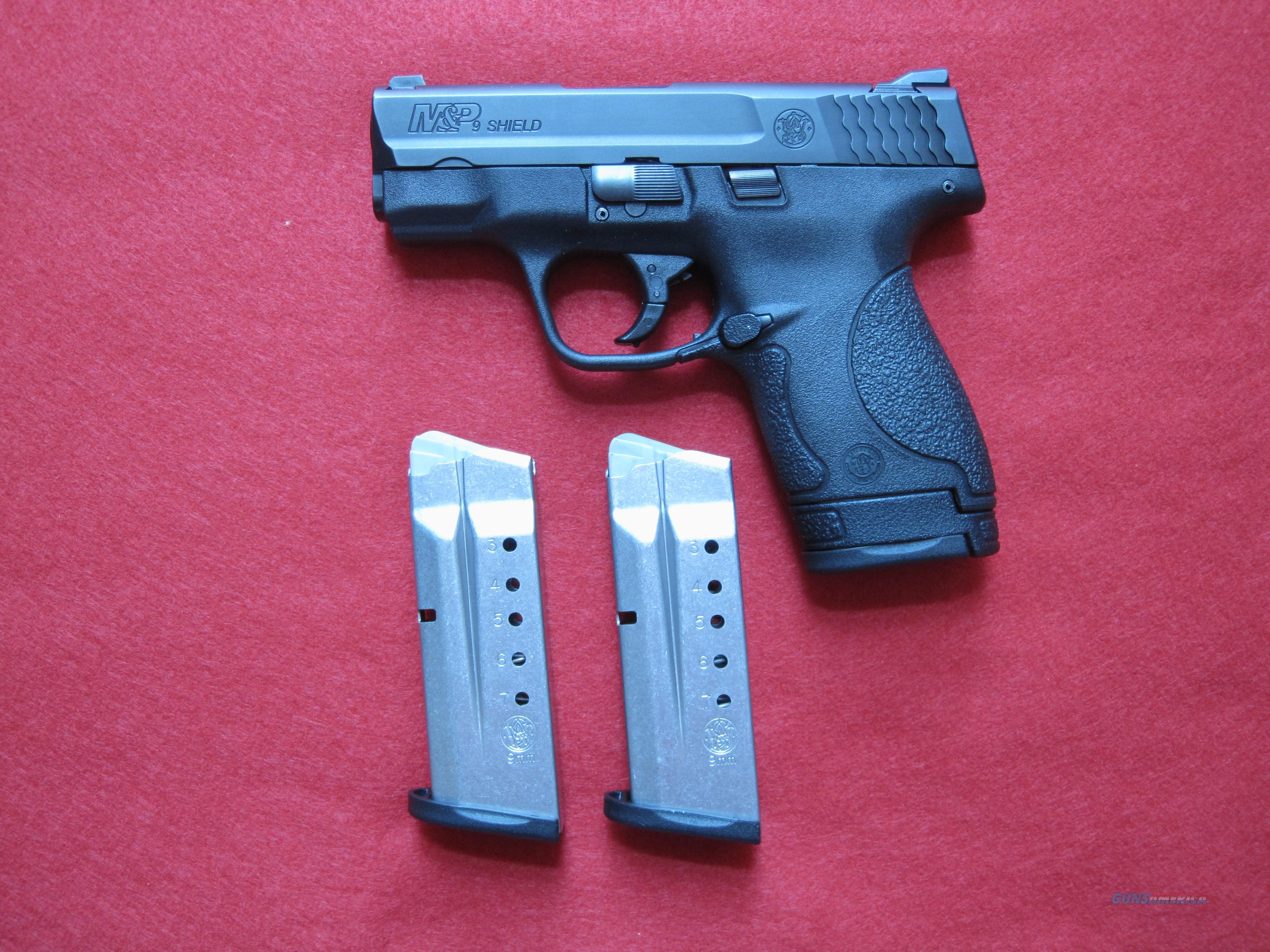 "SMITH & WESSON M&P SHIELD, 9MM, 3.1"" BARREL  Guns > Pistols > Smith & Wesson Pistols - Autos > Shield"