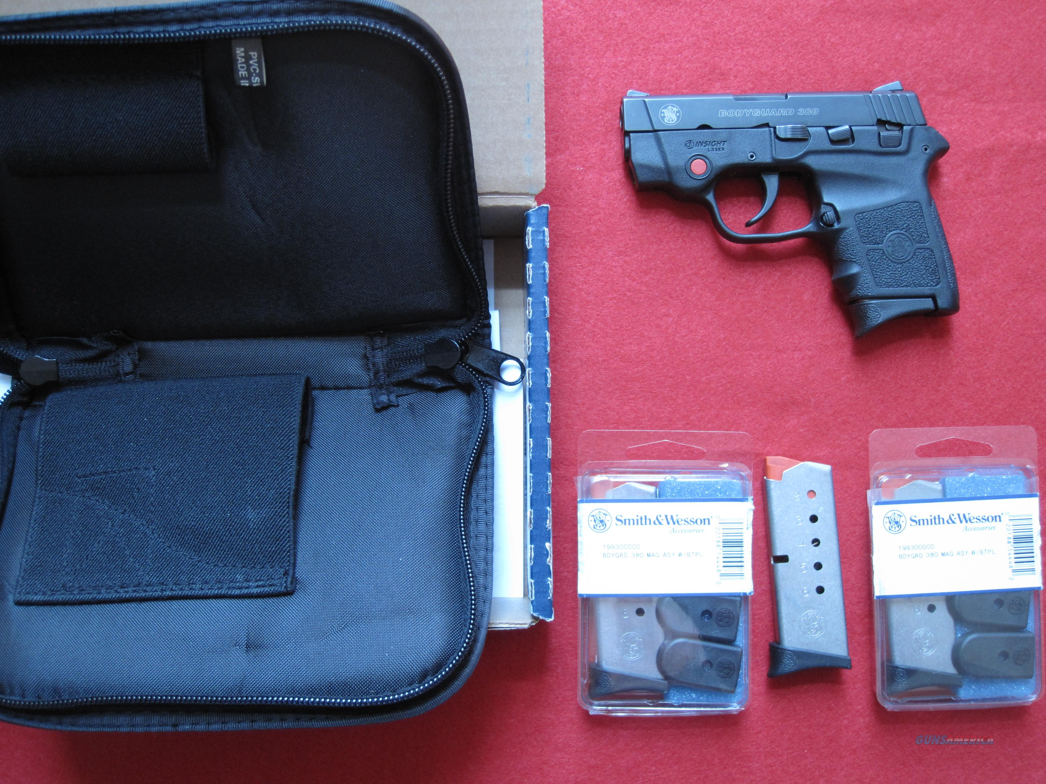 S&W M&P BODYGUARD .380 W/LASER AND SAFETY  Guns > Pistols > Smith & Wesson Pistols - Autos > Polymer Frame