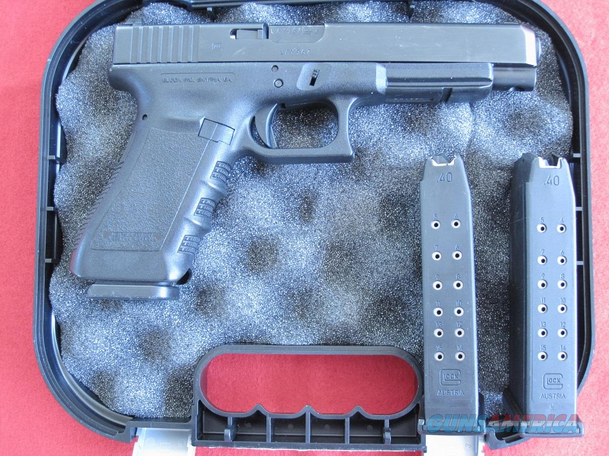 GLOCK, MODEL G35, .40 S&W, GEN. 3, NIGHT SIGHTS, LNIB  Guns > Pistols > Glock Pistols > 35