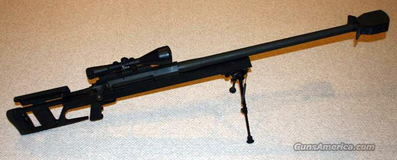 Very clean, lightly used AR-50 with Scope and Bipod  Guns > Rifles > Armalite Rifles > Complete Rifles