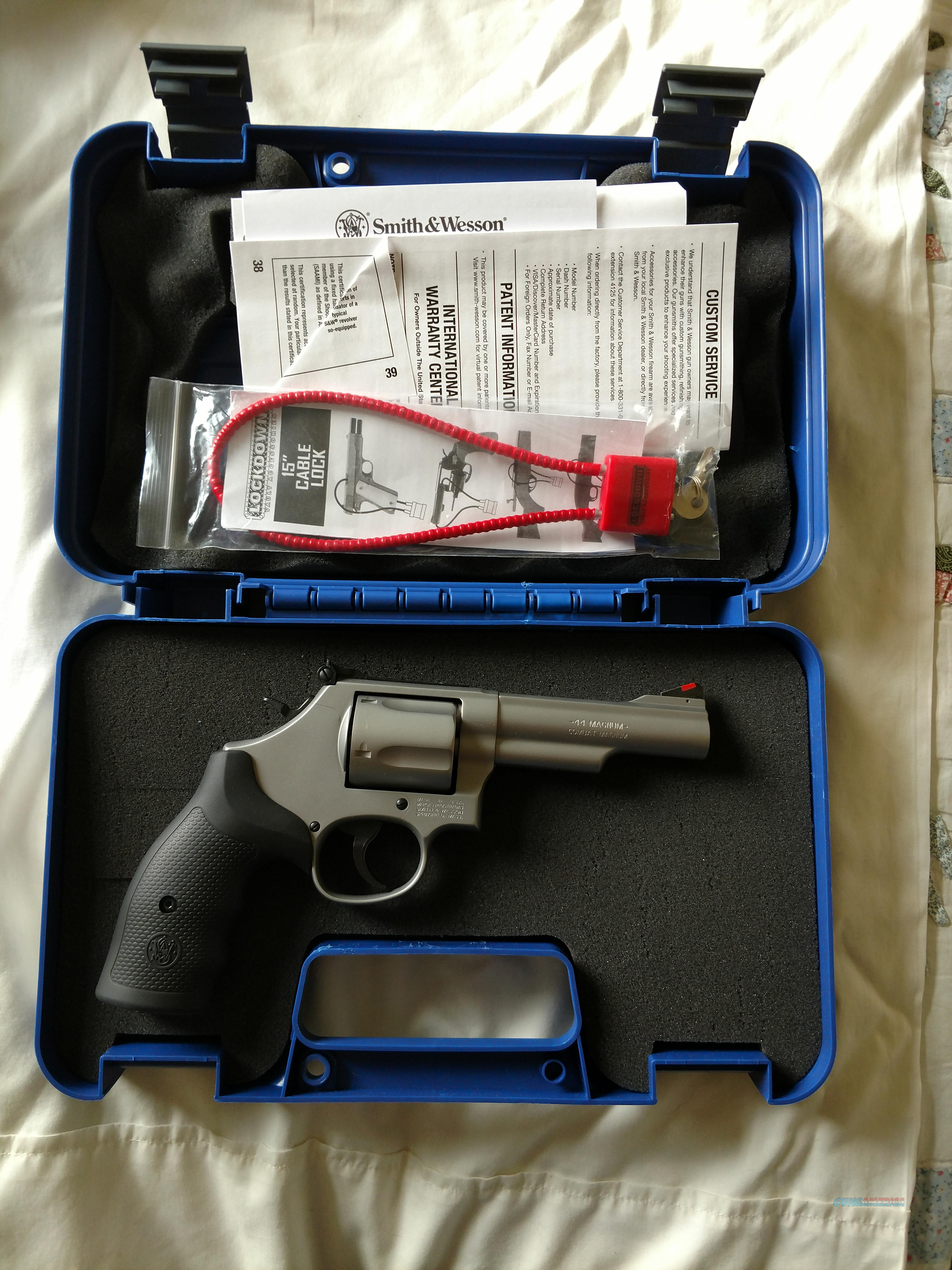 S&W Model 69 for sale--NEW  Guns > Pistols > Smith & Wesson Revolvers > Med. Frame ( K/L )
