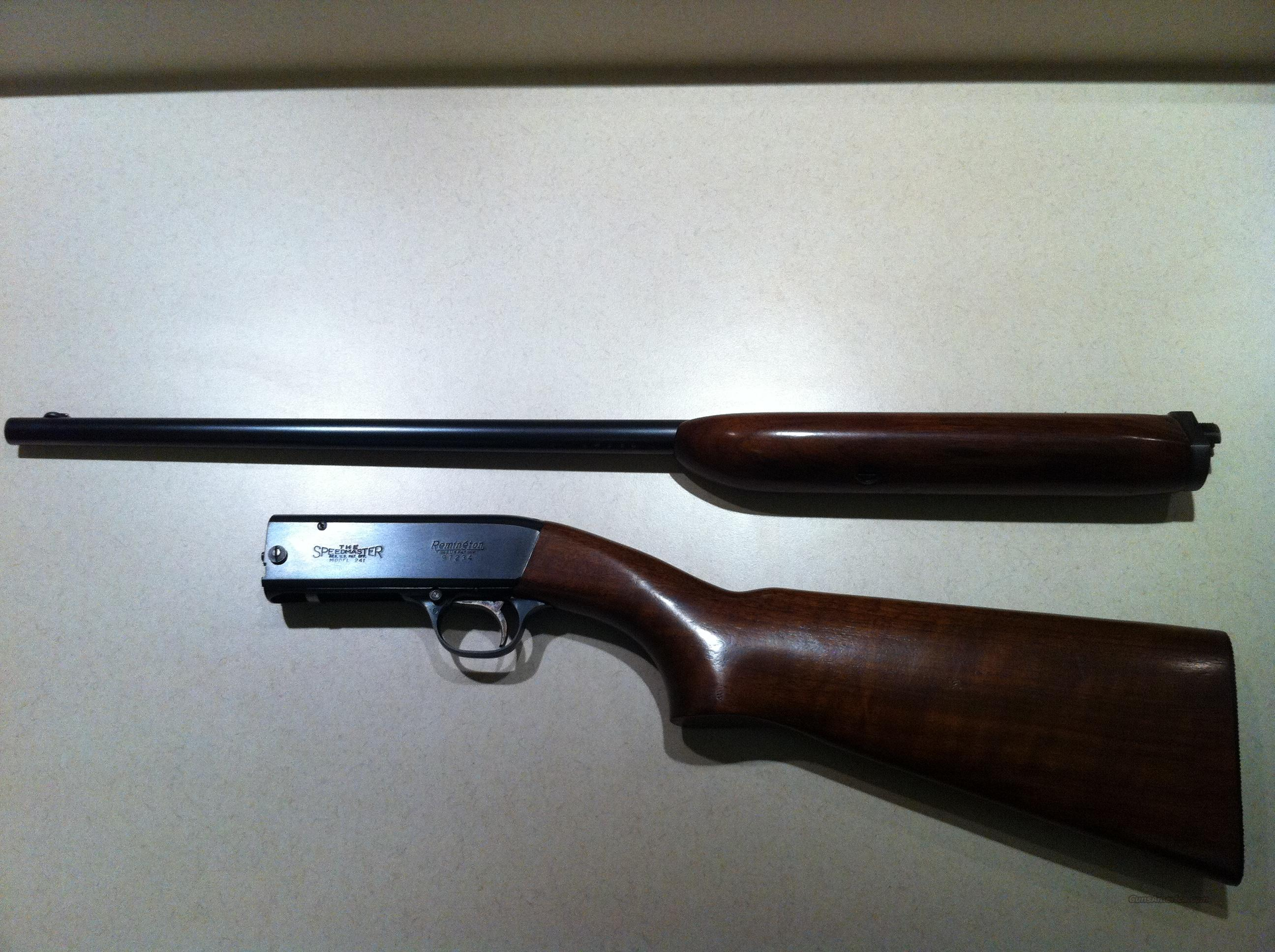 Remington Speedmaster Model 241LA, .22 LR  Guns > Rifles > Remington Rifles - Modern > .22 Rimfire Models