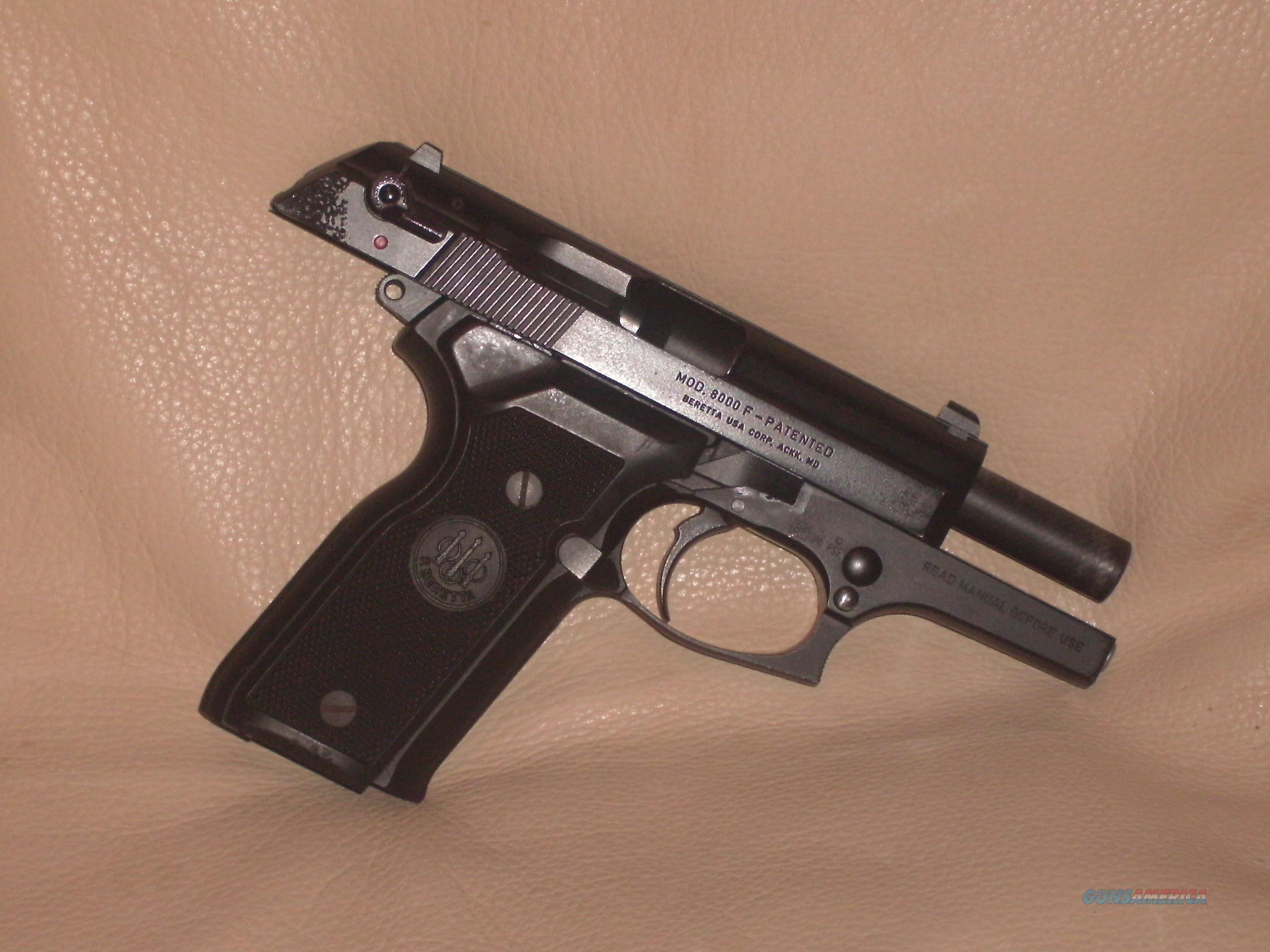 Beretta 8000, Cougar; 9mm  Guns > Pistols > Beretta Pistols > Model 92 Series