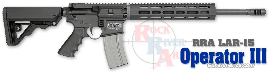 Rock River Arms Operator III Rifle, Like New  Guns > Rifles > Rock River Arms Rifles