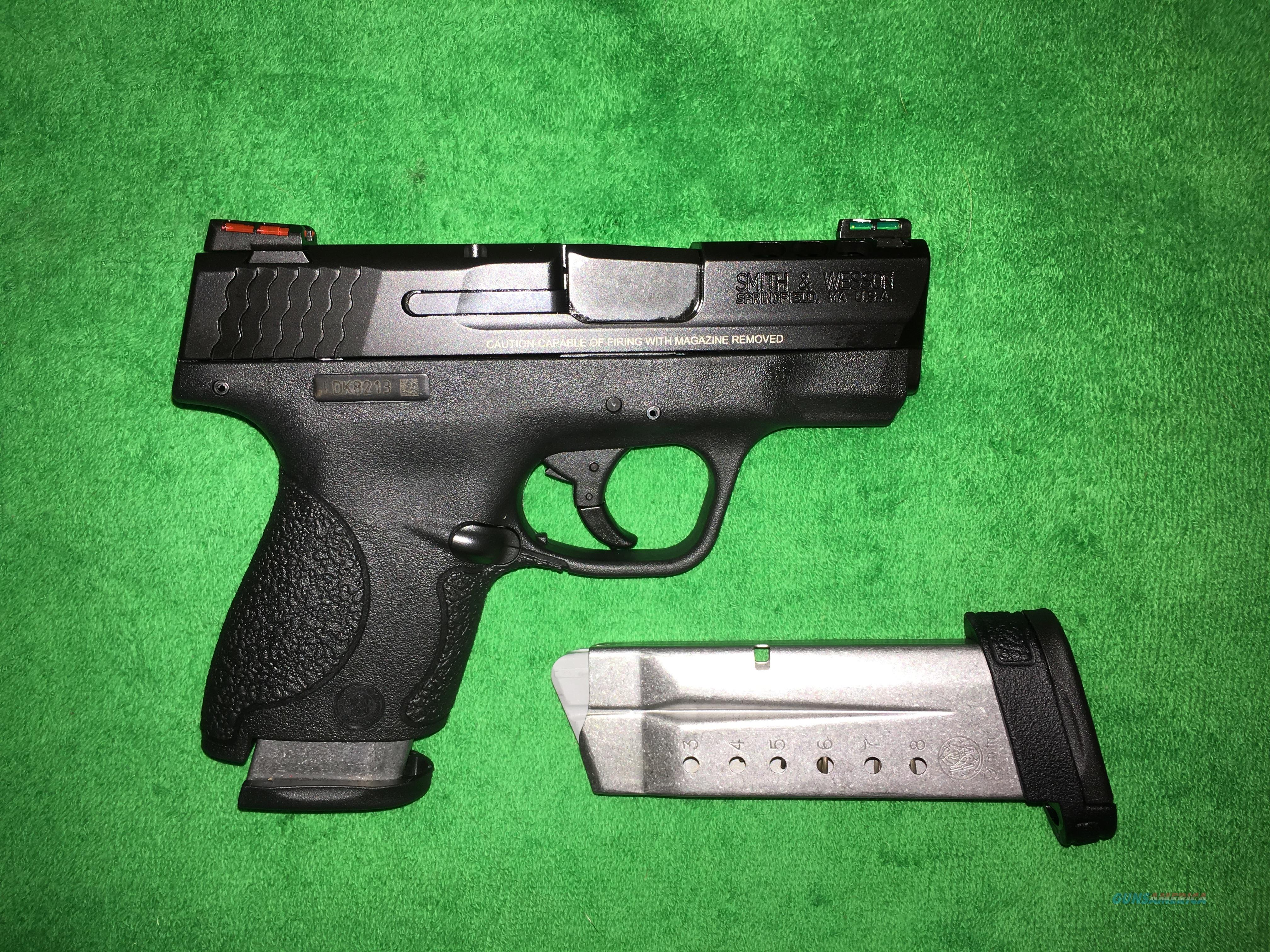 Smith & Wesson M&P 9 Shield Performance Center, Ported 9mm  Guns > Pistols > Smith & Wesson Pistols - Autos > Shield