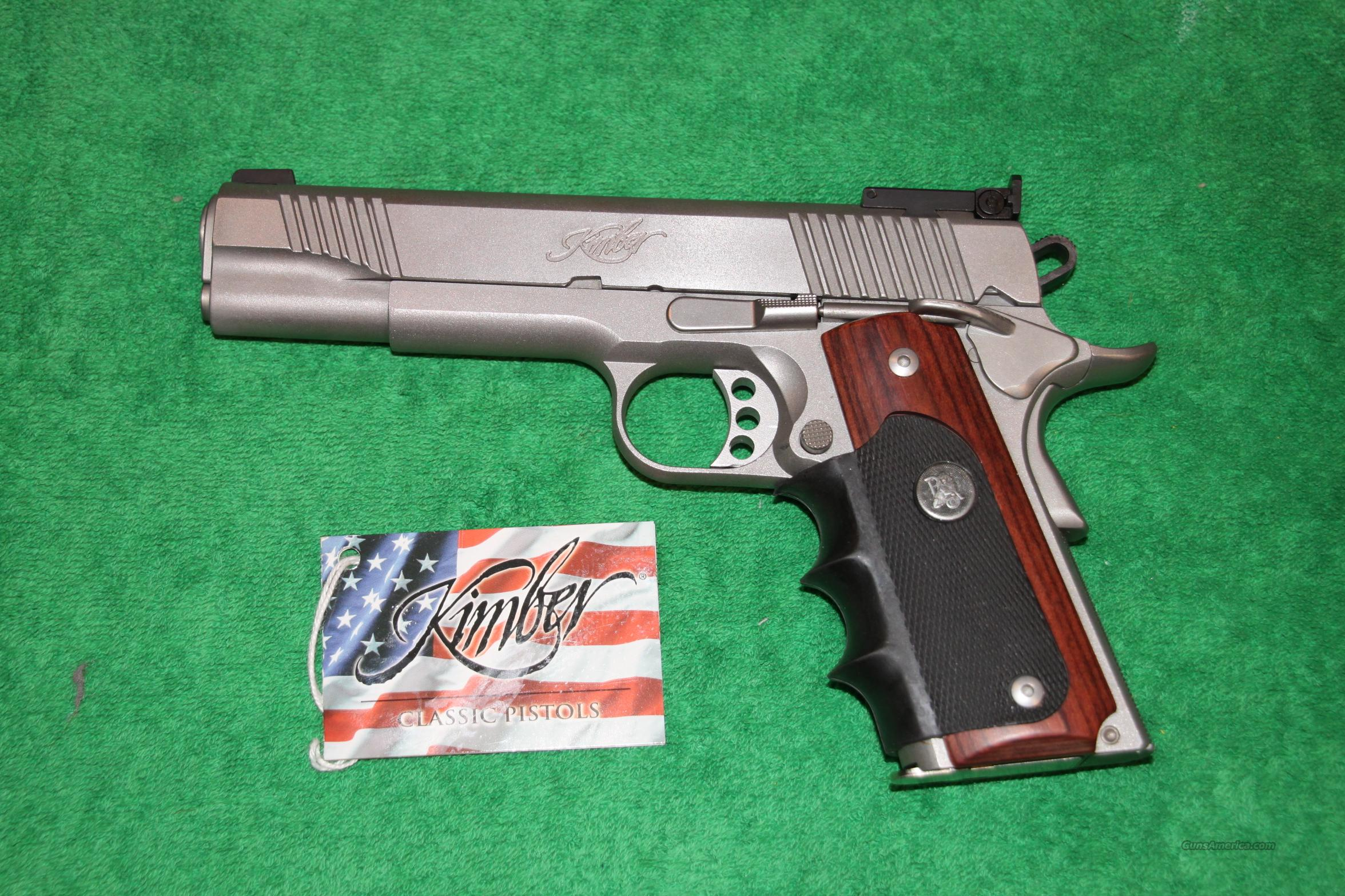 Kimber Stainless Target .40 S&W  Guns > Pistols > 1911 Pistol Copies (non-Colt)