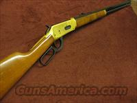 WINCHESTER 94 30-30 - CENTENNIAL '66 RIFLE - 24K GOLD - 26-INCH OCTAGONAL BARREL  Guns > Rifles > Winchester Rifles - Modern Lever > Model 94 > Post-64