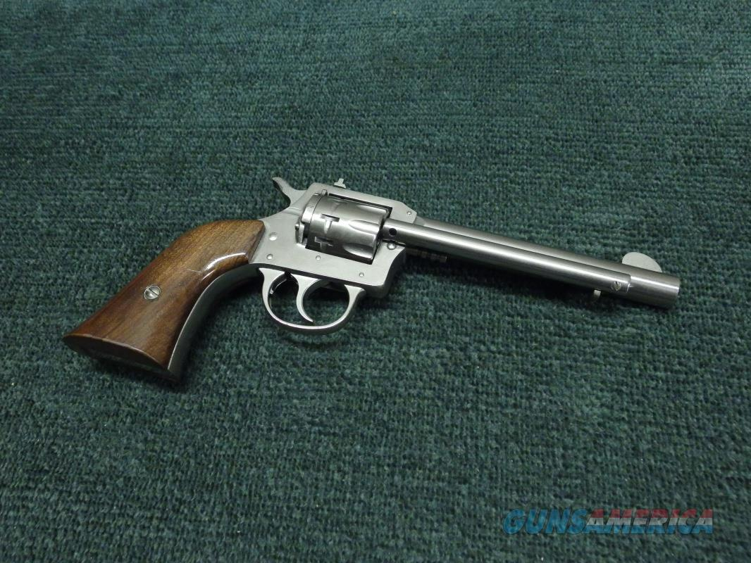 HARRINGTON & RICHARDSON (H&R) MODEL 950 .22 - 9-SHOT REVOLVER - NICKEL - 5 1/2-INCH - EXCELLENT  Guns > Pistols > Harrington & Richardson Pistols