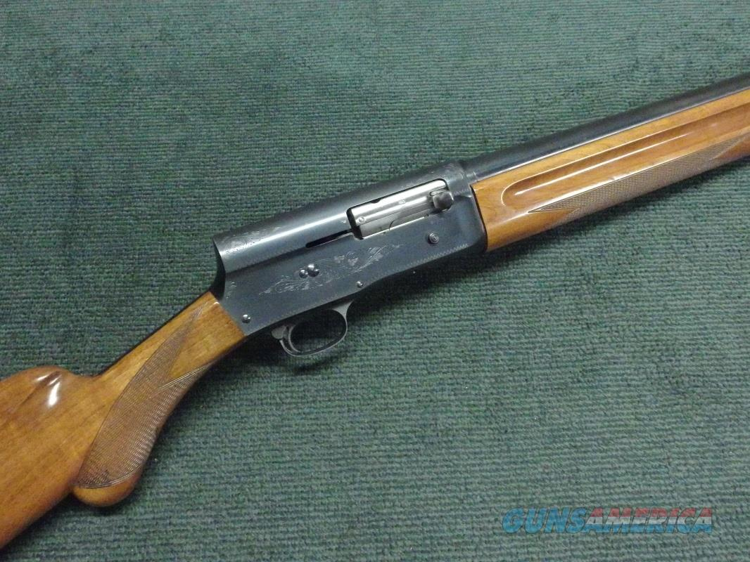 BROWNING BELGIAN AUTO-5 MAGNUM 12GA. - 32-INCH - FULL - PLAIN - ROUND KNOB - MADE IN 1963 - EXCELLENT - A5  Guns > Shotguns > Browning Shotguns > Autoloaders > Hunting