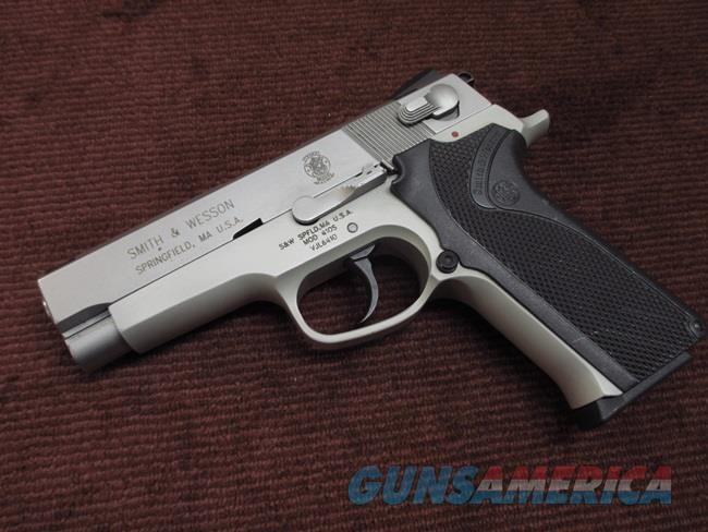 SMITH & WESSON 410S - .40 CAL. - STAINLESS - EXCELLENT  Guns > Pistols > Smith & Wesson Pistols - Autos > Alloy Frame