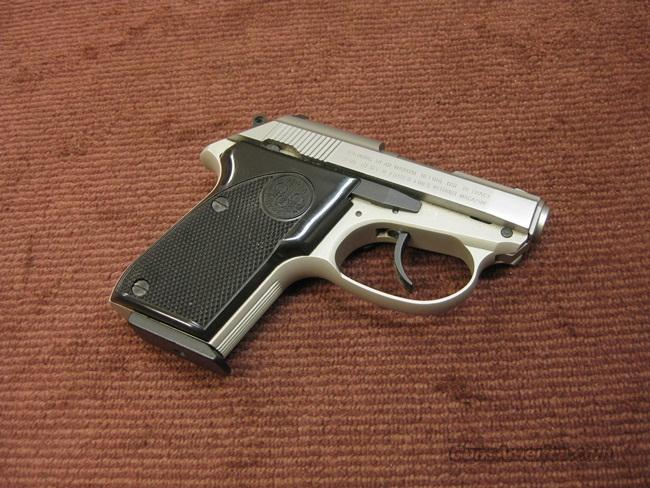 BERETTA TOMCAT .32ACP - STAINLESS - MINT  Guns > Pistols > Beretta Pistols > Small Caliber Tip Out