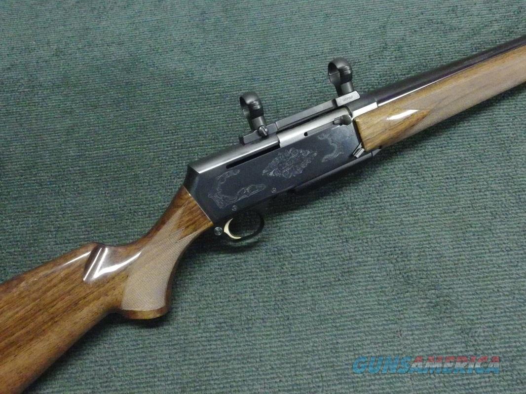 BROWNING BAR SAFARI II - .300 WIN. MAG. - LEUPOLD MOUNTS - EXCELLENT  Guns > Rifles > Browning Rifles > Semi Auto > Hunting