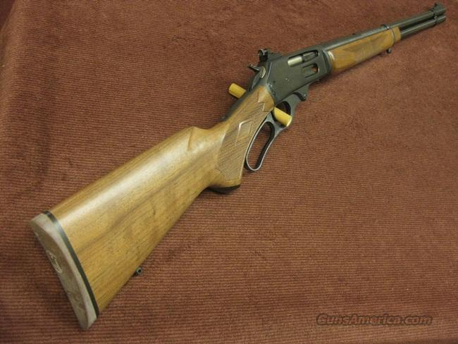 MARLIN 336 C .35 REMINGTON - WITH PEEP SIGHT - MINT !  Guns > Rifles > Marlin Rifles > Modern > Lever Action