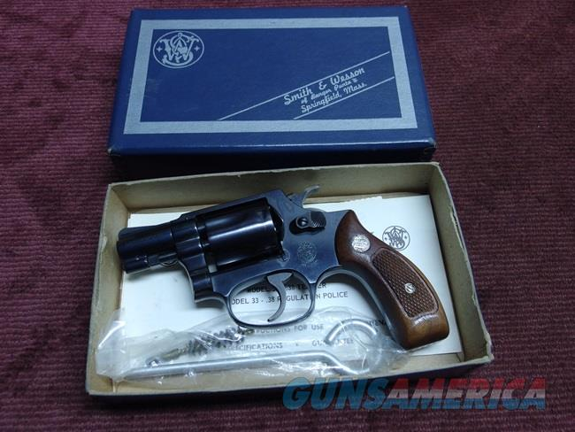 SMITH & WESSON MODEL 32-1  TERRIER  .38 S&W - MINT IN BOX - APPEARS UNFIRED  Guns > Pistols > Smith & Wesson Revolvers > Pocket Pistols