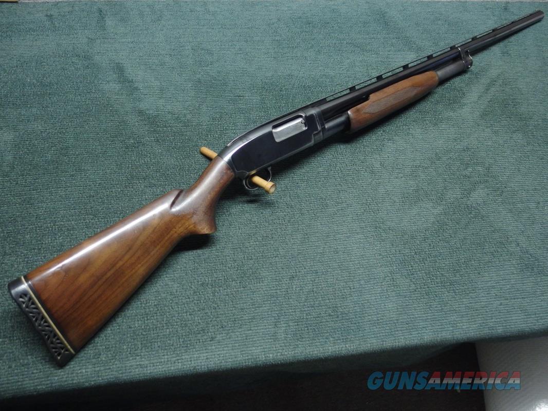WINCHESTER MODEL 12 12GA. 28-IN. MODIFIED - WITH MONEY MAKER VENT RIB - MADE IN 1950  Guns > Shotguns > Winchester Shotguns - Modern > Pump Action > Hunting